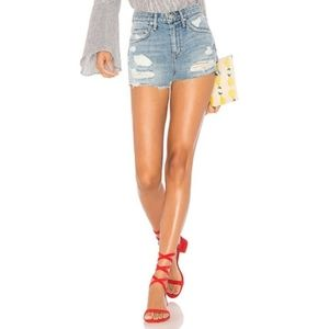 Lovers + Friends Jack Denim Shorts in Westerly